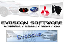 Load image into Gallery viewer, ✅ Evoscan Software v2.9.0017 SSMII 2019 MUTII Program Logger Latest Version Released Subaru Mitsubishi Chip Tuning Diagnostics