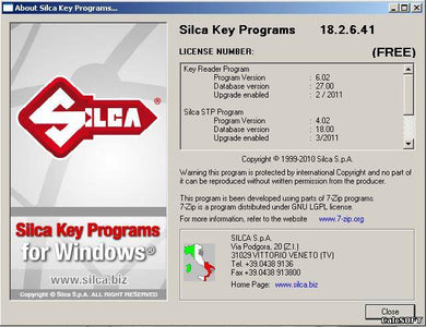 ✔️Silca Key Program 18.2.0.40 Download Large database of chip keys PIN CODE duplicate electronic keys transponders