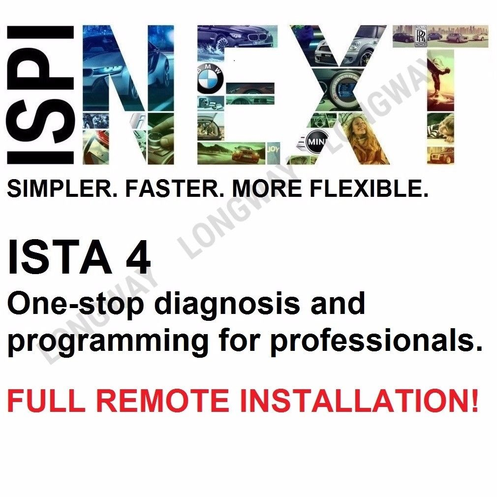 ✅ REMOTE INSTALLATION SERVICE FOR BMW ISTA+ D RHEINGOLD  E-Sys INPA NCS OBD COMPLETE SOFTWARE FITS BMW✅