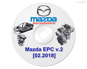 ✅Mazda EPC All-in-1 GLOBAL 2018 SOFTWARE PARTS CATALOGUE EPC REPAIR OBD SCAN