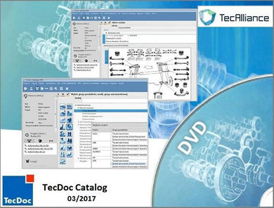✅TecDoc DVD Catalog 4Q.2018 Full UNIVERSAL CATALOG PROGRAM SOFTWARE PARTS