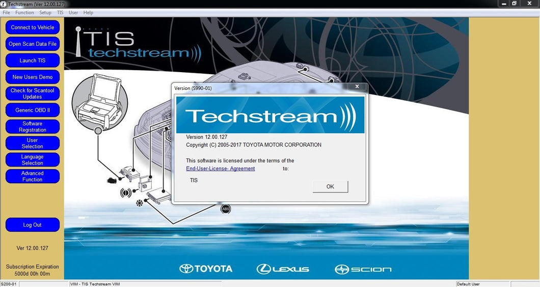 ✔️TOYOTA TECHSTREAM 2017 DIAGNOSTIC PROGRAM