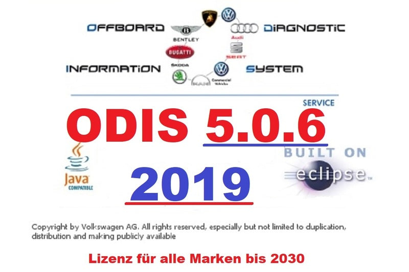 ✅2019 ODIS-S 5.1.5 SERVICE DIAGNOSTIC SOFTWARE FOR VAG VALID TO 2030 INSTANT DOWNLOAD