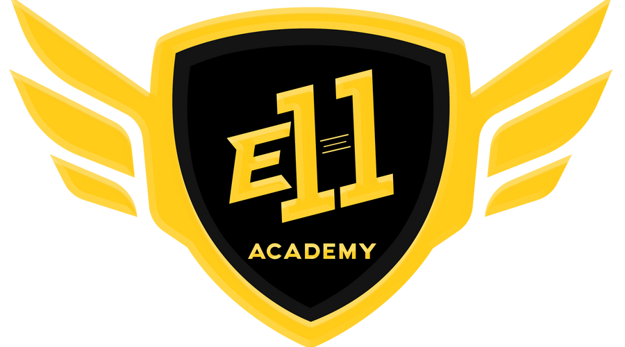 welcome to the e11 academy - logo competitivo fortnite png