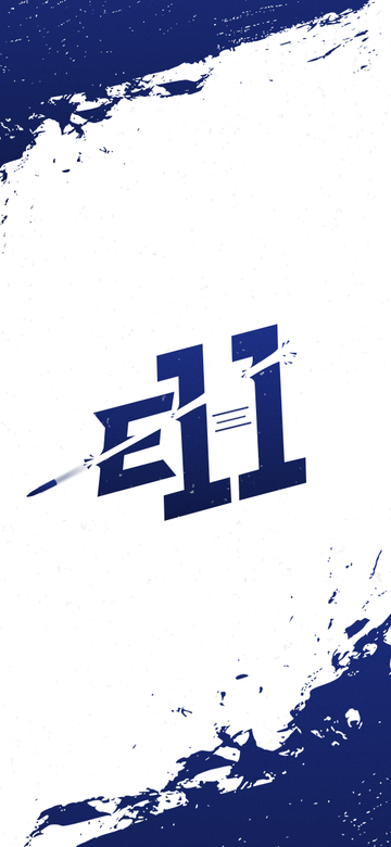 E11 Phone Wallpaper White