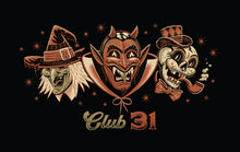 Load image into Gallery viewer, Club 31 Spooky Trio Tee
