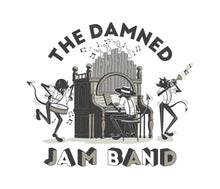 Load image into Gallery viewer, Damned Jam Band Ringer Tee