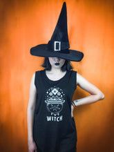 Load image into Gallery viewer, Witch Cap Sleeve Tee