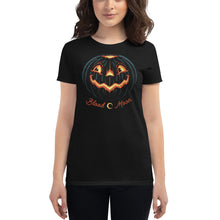 Load image into Gallery viewer, Vintage Jack-O'-Lantern Women's Tee