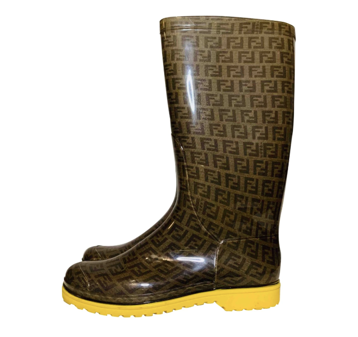 Fendi wellingtons, size 37
