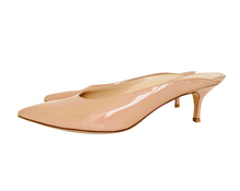 Load image into Gallery viewer, Gianvito Rossi patent leather mules, size 37
