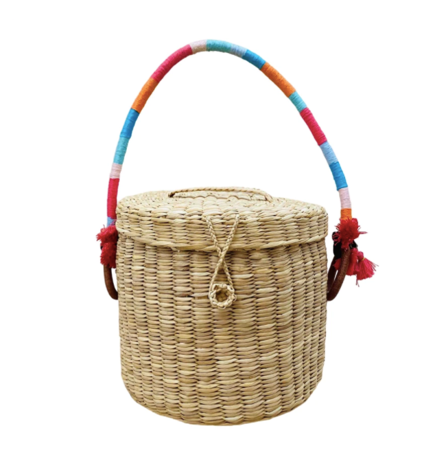Nannacay wicker basket