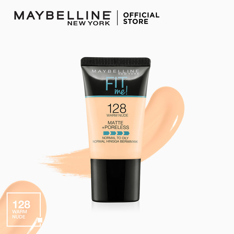 Fit Me Matte+Poreless Liquid Foundation Tube
