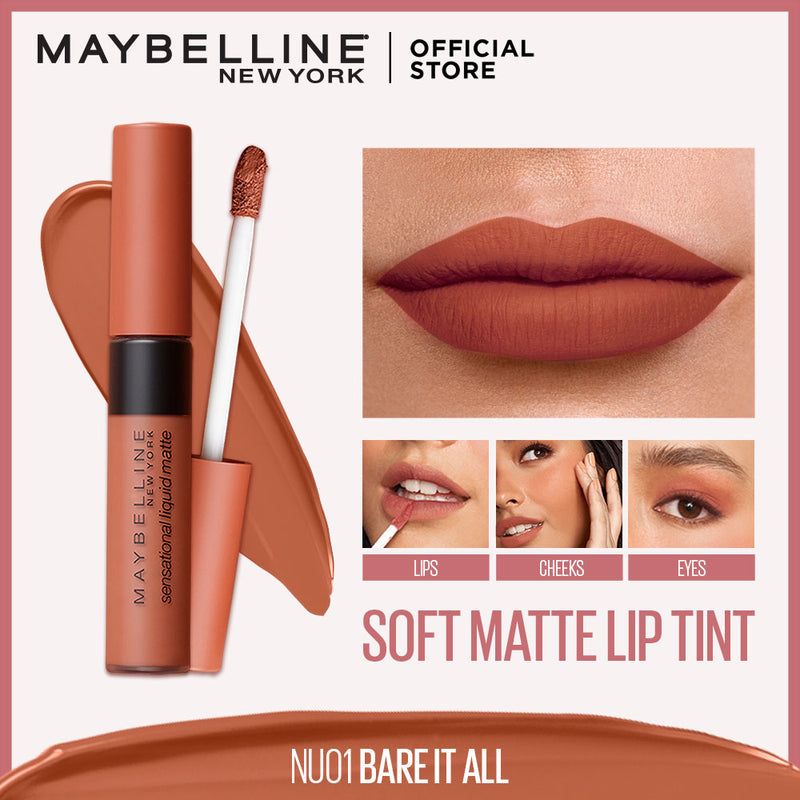 Sensational Liquid Matte Lip Tint