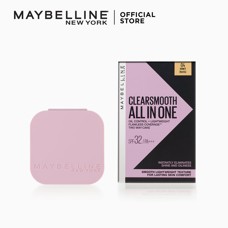 Maybelline Clearsmooth All In One Powder Foundation Refill - 04 Honey