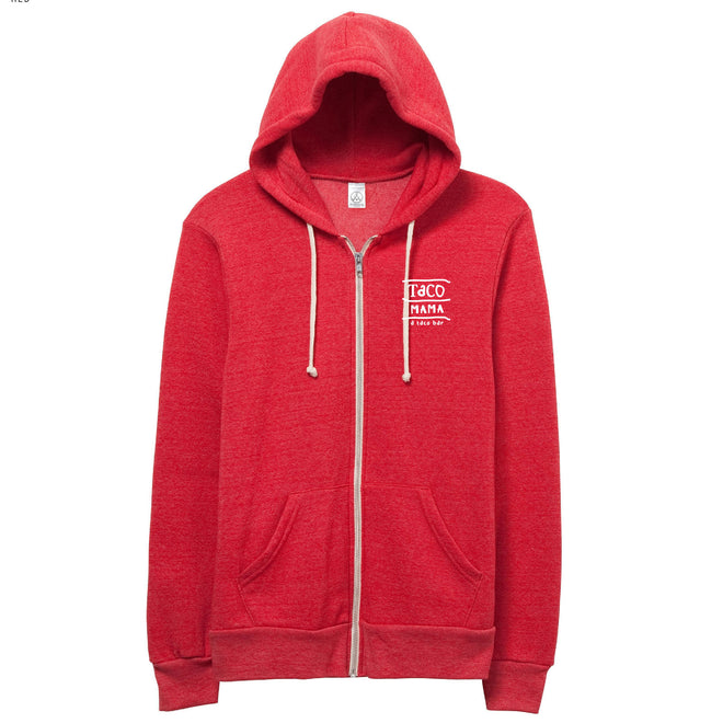 Alternative Apparel Rocky Eco-Fleece Zip Hoodie