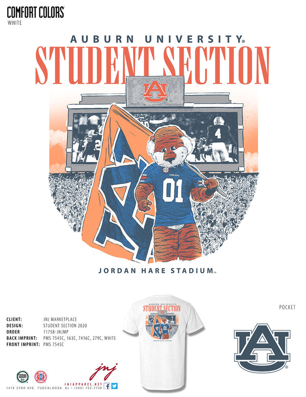 Auburn Student Section 2020