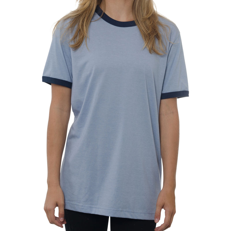 Heather Jersey Ringer