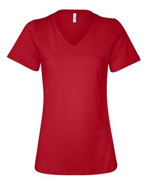 Women's Relaxed Jersey V-Neck