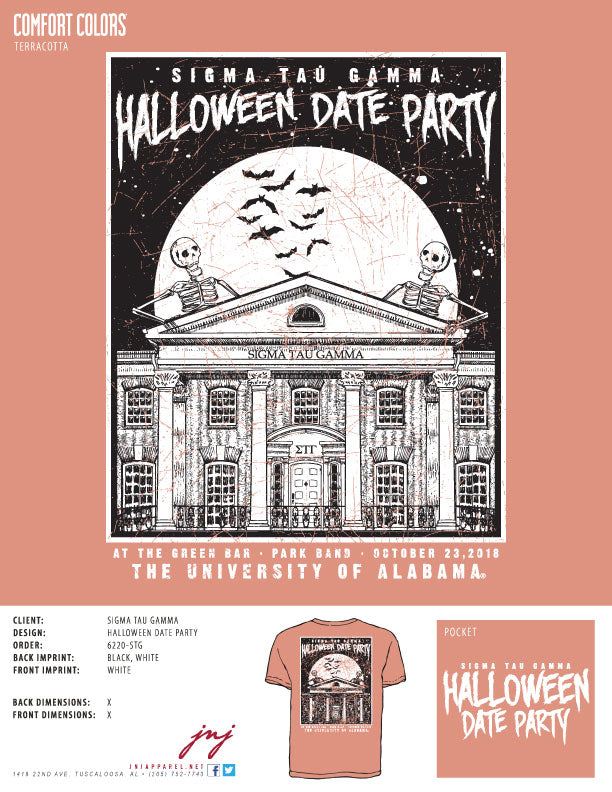 Halloween Date Party 2018