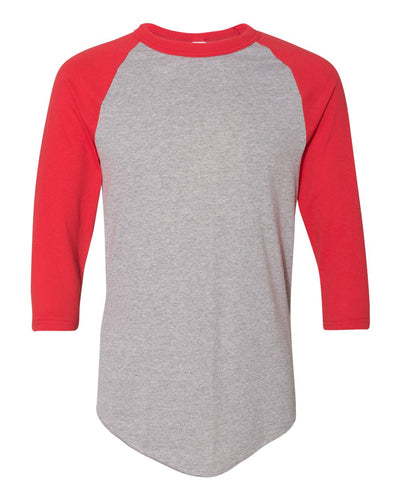 Athletic Heather Red