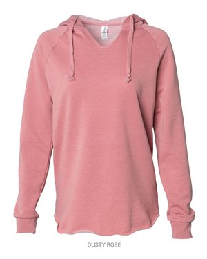 Women's Lightweight California Wavewash Hooded Pullover Sweatshirt