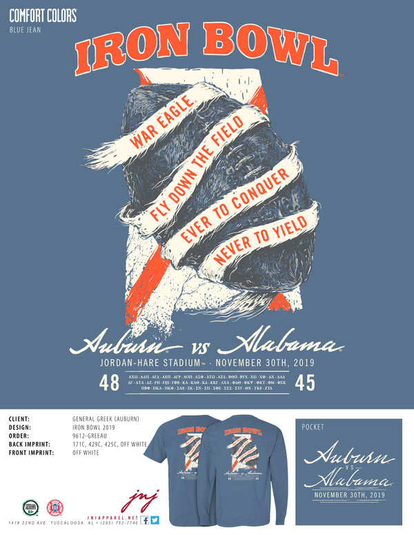 Iron Bowl 2019 Shirt