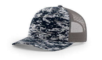 Navy Digital Camo/Charcoal