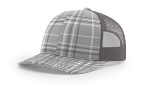 Plaid Grey/Charcoal/Charcoal