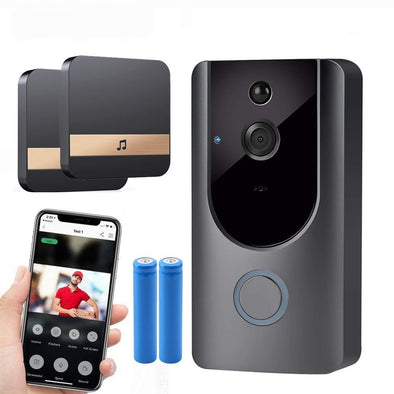HD 720P Wireless Intercom Doorbell Camera