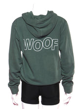 Load image into Gallery viewer, WOOF Hoodie - Alpine Green