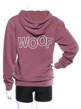 Load image into Gallery viewer, WOOF Hoodie - Rose