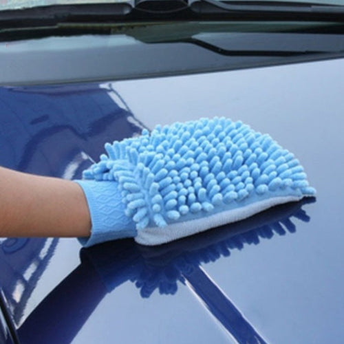 Car Cleaning Drying Gloves Double-side Window Washing Tool Home Cleaning Car Wash Glove Auto Accessories