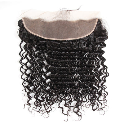 Raw Cambodian Curly Lace Frontal - NAZODA