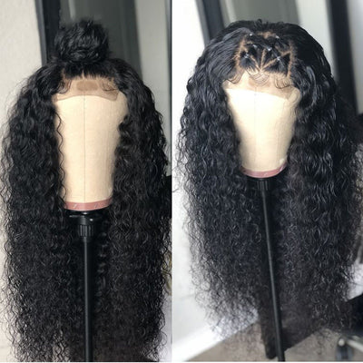 4x4 Lace Closure Wig Curly Virgin Hair