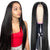 13x6 Lace Front Wig Straight Virgin Hair