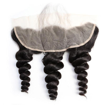 Virgin Hair Loose Wave 13x4 Lace Frontal - NAZODA