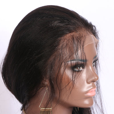 Fake Scalp Lace Wig 13x6 Lace Front Wig Straight Virgin Hair