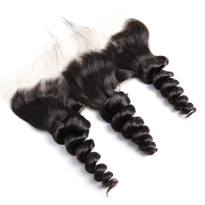 Virgin Hair Loose Wave 13x4 Lace Frontal