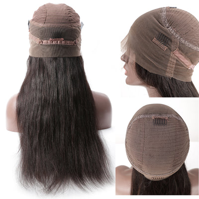 360 Lace Frontal Wig Straight Virgin Hair