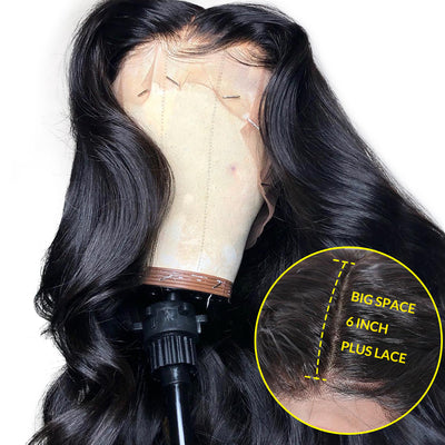 360 Lace Frontal Wig Body Wave Virgin Hair