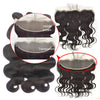 HD Lace Frontal 13x4 Transparent Lace Body Wave Virgin Hair - NAZODA