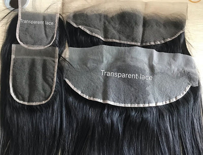 HD Lace Frontal 13x4 Transparent Lace Body Wave Virgin Hair