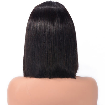 Short Bob Wig Straight Virgin Hair