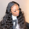Transparent Lace Full Lace Wig HD Lace Wig Body Wave Virgin Hair - NAZODA