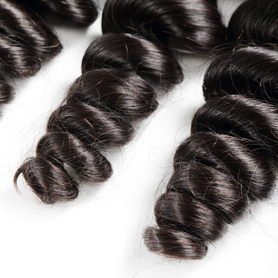 10A Loose Wave Bundles for Wholesale - Get Free Lace Closures, Lace Frontals, Wigs - NAZODA