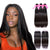 Virgin Hair Straight Bundles With Closure