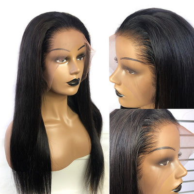 Transparent Lace 13x6 Lace Front Wig HD Lace Wig Straight Virgin Hair