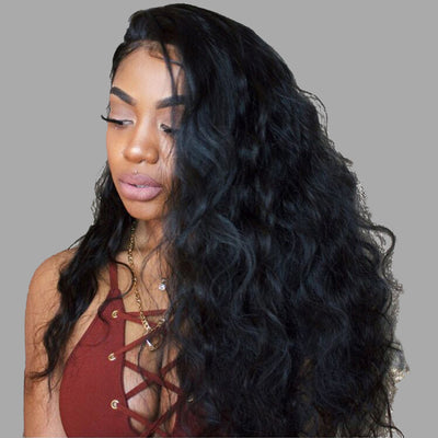 Glueless Full Lace Wig Body Wave Virgin Hair