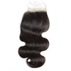 "Virgin Body Wave Bundles 14"" 16"" 18"" + 16"" Lace Closure"